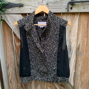 BCBG Generation zippered blouse. Small